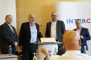 Andreas Goerlich s IT Solutions, Reinhart Laumer, INTERCOPE, Udo Browarczik, NordLB, Thomas Joedecke, NordLB